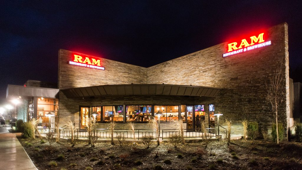 The facade of the RAM Restaurant & Brewhouse (Boise)